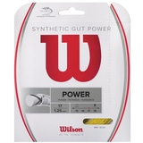 Wilson Synthetic Gut Power 17 Tennis String Set - Gold