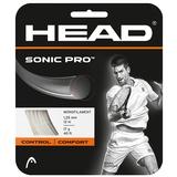 Head Sonic Pro 17 Tennis String Set - White