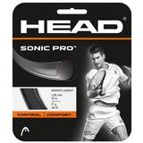 Head Sonic Pro 17 Tennis String Set - Black